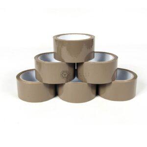 Lepící páska 48 mm x 66 mm HAVANA / RPACK (hnědá)