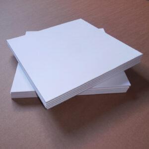 Obal na LP – bílá barva / 4 mm hřbet