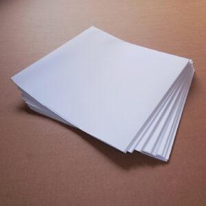 Obal na LP – bílá barva / lepená kapsa